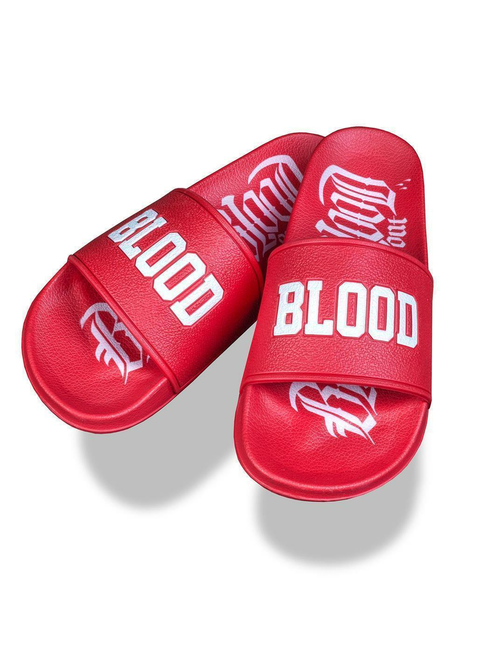 Blood In Blood Out Logo Sandalen 42