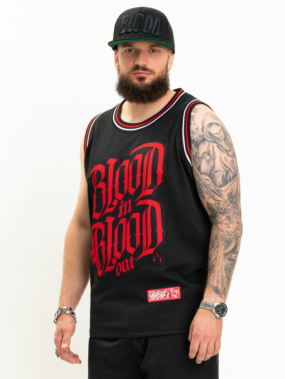 Blood In Blood Out Aguas Mesh Tanktop M