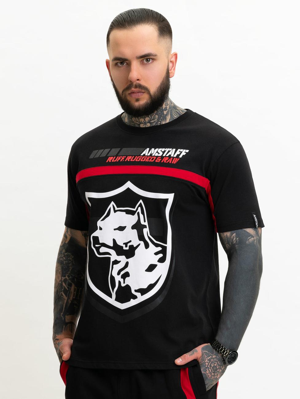 Amstaff Naror T-Shirt schwarz L