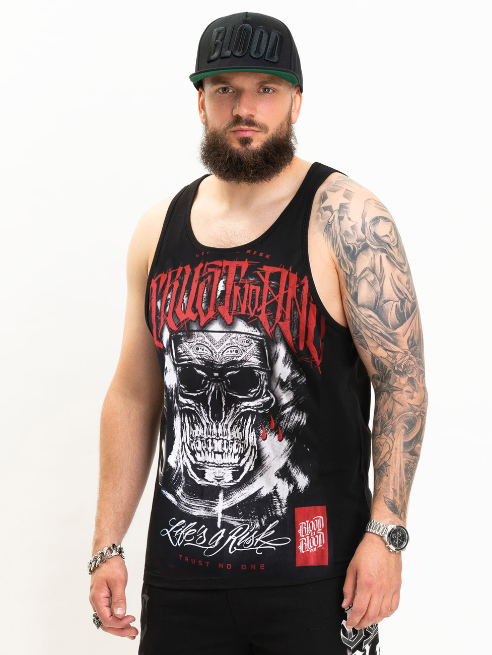 Blood In Blood Out Cavadores Tank Top L