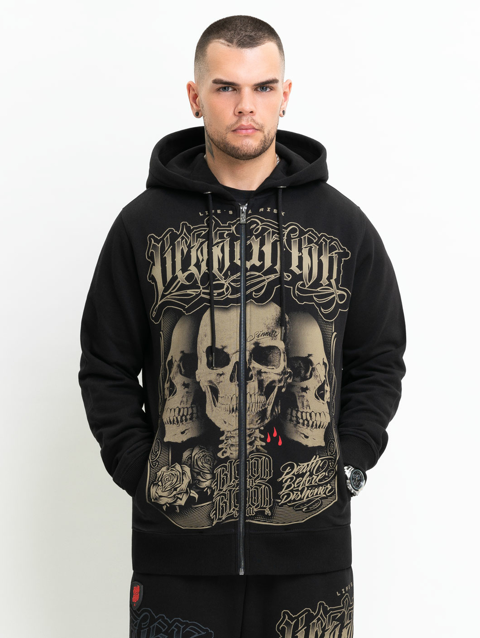 Blood In Blood Out Atrapó Hoodie 2XL